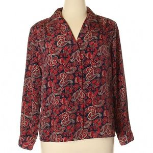 Worthington Long Sleeve Blouse